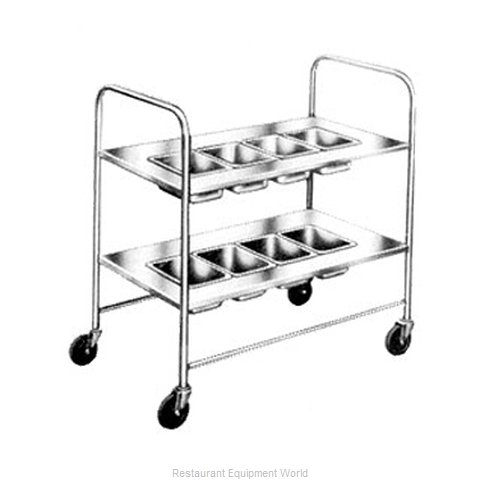 Piper Products 717 Silver Cart