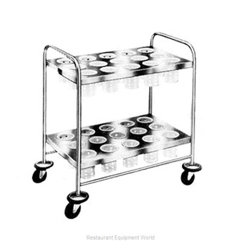 Piper Products 719 Silver Cart