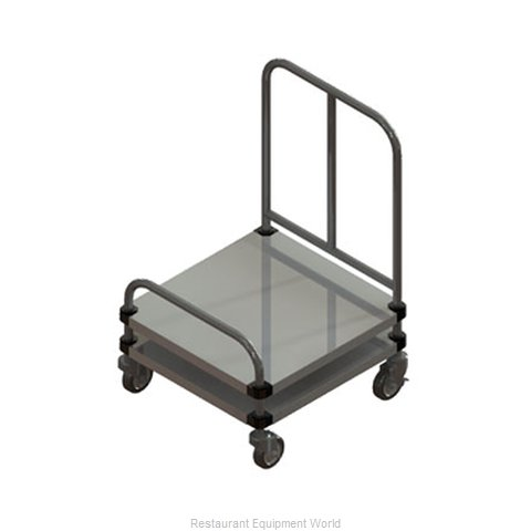 Piper Products 720-1 Tray Cart for Stacked Trays