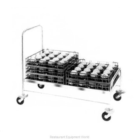 Piper Products 721-1 Tray Cart, for Stacked Trays