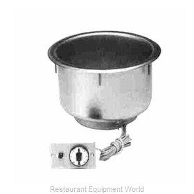 Piper Products 7QT-D-T-R Hot Food Well Unit, Drop-In, Electric