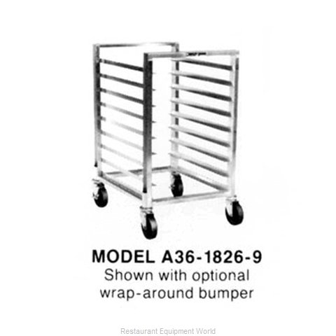 Piper Products A48-1826-8 Rack Mobile Bun Sheet Pan 18 x26