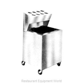 Piper Products AT-ST2-OSW8 Flatware & Tray Cart