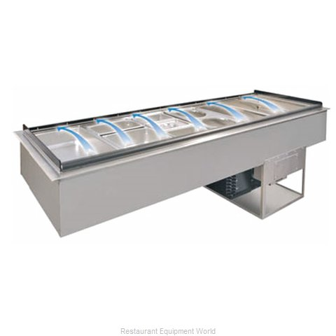 Piper Products CBDI-6 Cold Pan Food Unit Drop-In