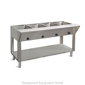 Piper Products DB-4-HF Serving Counter, Hot Food, Electric