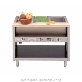 Piper Products DME-3-DS Serving Counter, Hot Food, Electric