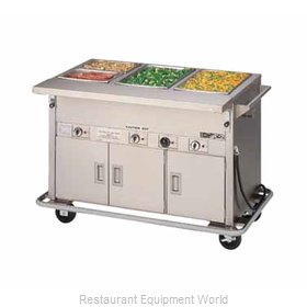 Piper Products DME-4-PTSB Serving Counter, Hot Food, Electric