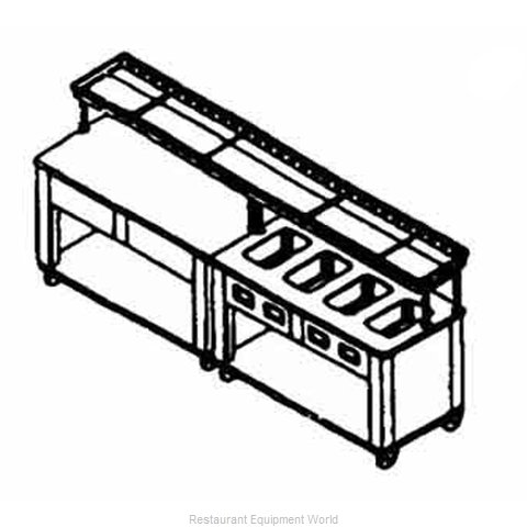 Piper Products ESC-46 Conveyor, Tray Make-Up