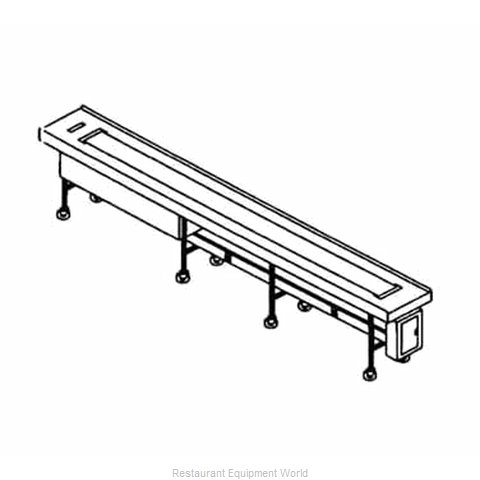 Piper Products FABRIC-14 Conveyor, Tray Make-Up