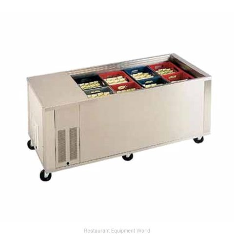 Piper Products MILK-8 Serving Counter Milk Buffet