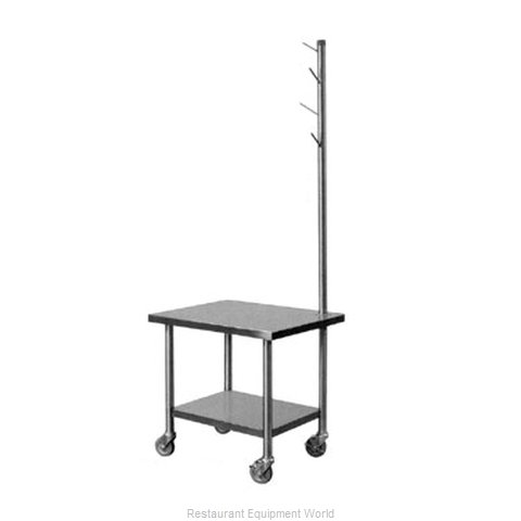 Piper Products MX-29-TSS Equipment Stand, for Mixer / Slicer