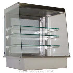 Piper Products OTA-2 Display Case, Non-Refrigerated, Drop In