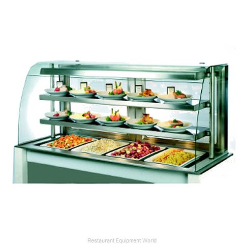 Piper Products OTH-3 Display Case Heated Deli Countertop
