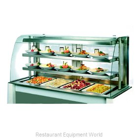 Piper Products OTH-3 Display Case, Heated Deli, Countertop