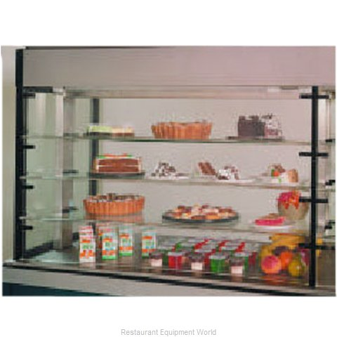 Piper Products PDR-4 Display Case Refrigerated Merchandiser Drop-In
