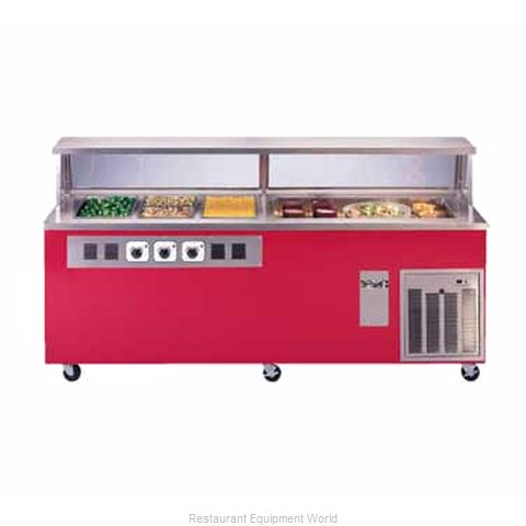 Piper Products R1H-4CI Serving Counter Hot and Cold Buffet