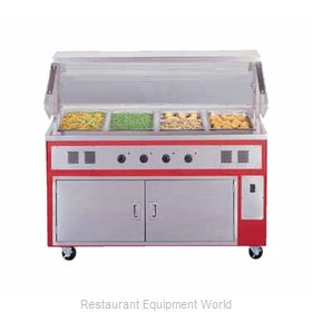 Piper Products R2-HF Serving Counter, Hot Food, Electric
