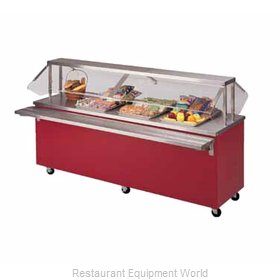 Piper Products R3-HT Serving Counter, Hot Food, Electric