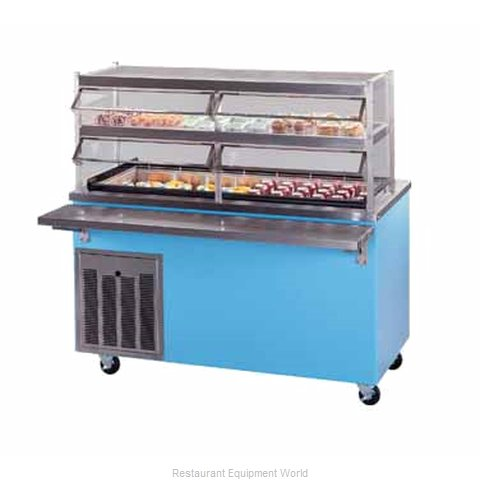 Piper Products R4-CI Serving Counter Cold Pan Salad Buffet