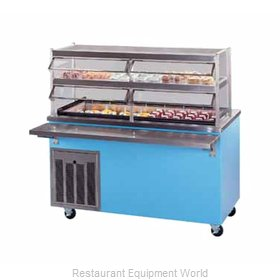 Piper Products R4-FT Serving Counter, Frost Top