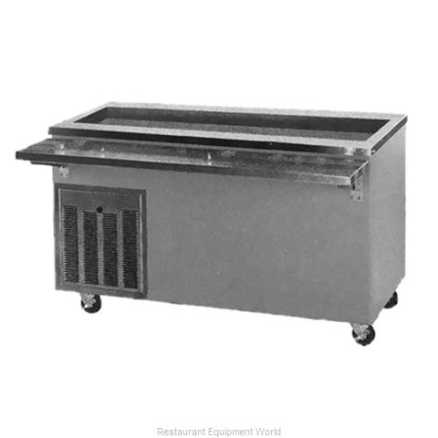Piper Products R6-BCM Serving Counter Cold Pan Salad Buffet