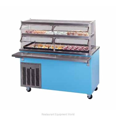 Piper Products R6-CB Serving Counter Cold Pan Salad Buffet