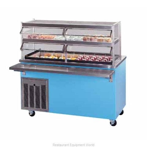 Piper Products R6-CM Serving Counter Cold Pan Salad Buffet