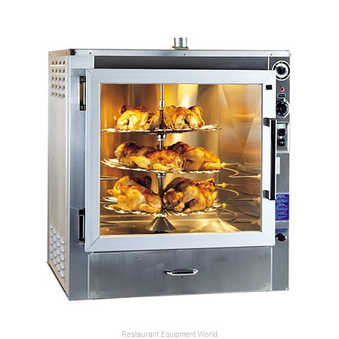 Piper Products RO-1 Oven, Electric, Rotisserie