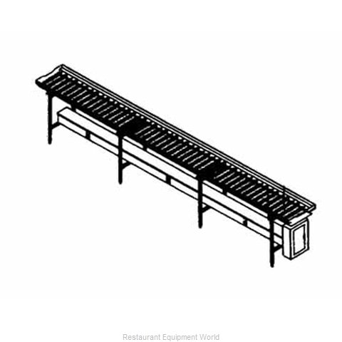 Piper Products SRC-12 Conveyor, Tray Make-Up