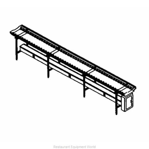Piper Products SSC-16 Conveyor Tray Make-Up