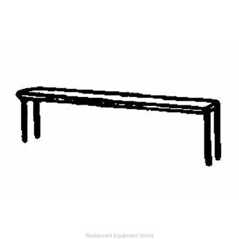 Piper Products SSH-58 Overshelf, Table-Mounted