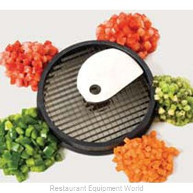 Piper Products W14-5 Food Processor, Dicing Disc Plate
