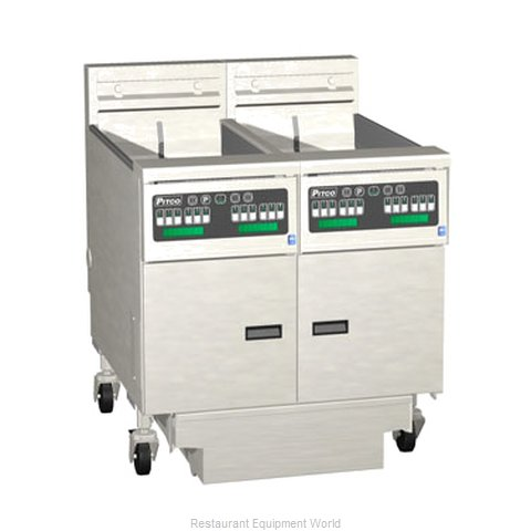 Pitco 2-SE14C-S/FD Fryer Battery Electric