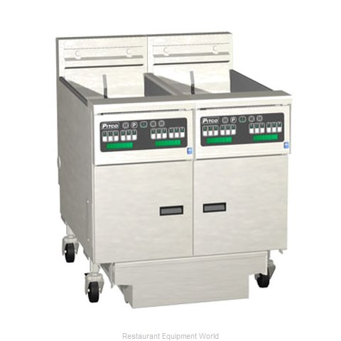 Pitco 2-SE14XC-S/FD Fryer Battery Electric