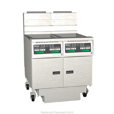 Pitco 2-SG14C-S/FD Fryer Battery Gas