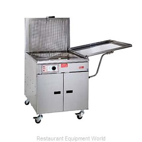 Pitco 24F Fryer, Chicken/Fish, Gas