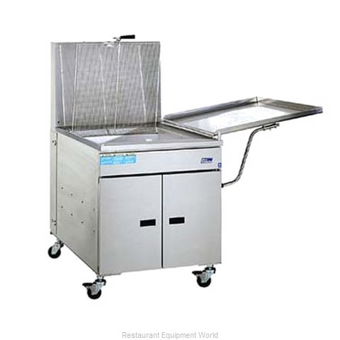 Pitco 24PSS Fryer Doughnut Gas (Magnified)
