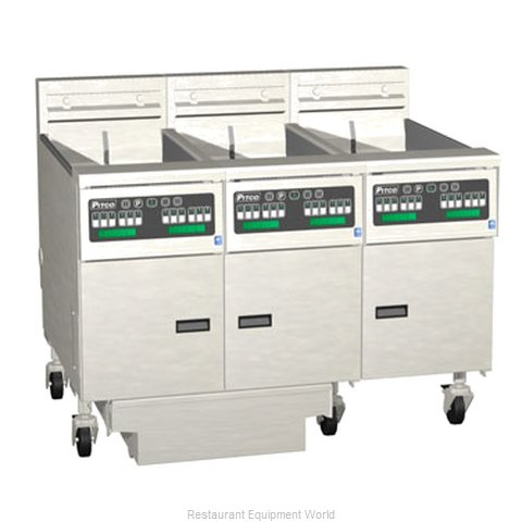 Pitco 3-SE14C-S/FD Fryer Battery Electric