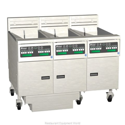 Pitco 3-SE14RC-S/FD Fryer Battery Electric
