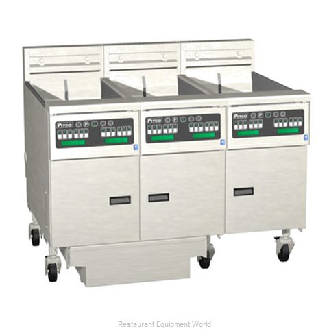 Pitco 3-SE14XC-S/FD Fryer Battery Electric