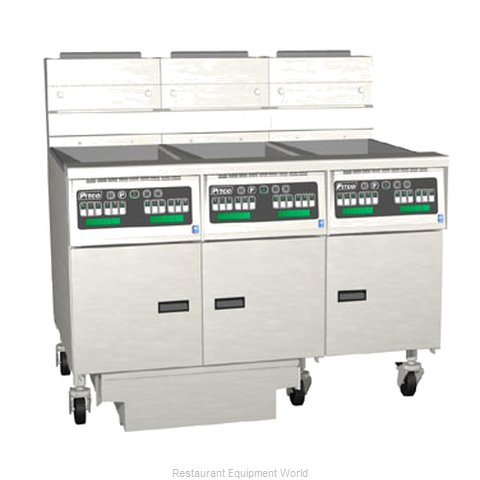 Pitco 3-SG14C-S/FD Fryer Battery Gas