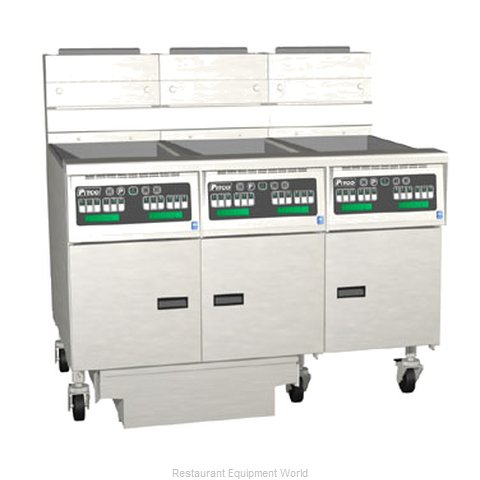 Pitco 3-SG14RC-S/FD Fryer Battery Gas