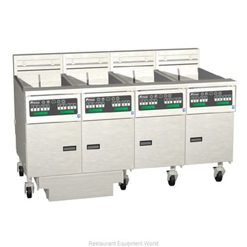 Pitco 4-SE14C-S/FD Fryer Battery Electric