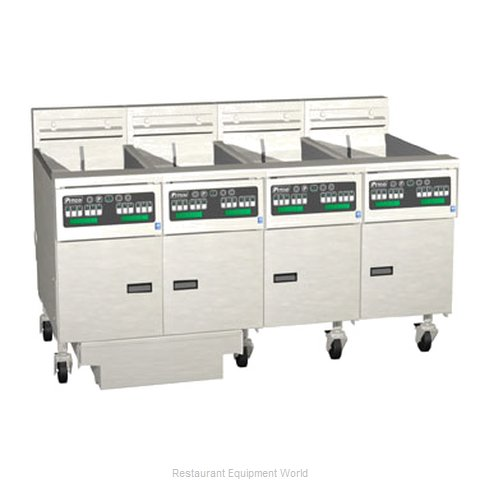 Pitco 4-SE14XC-S/FD Fryer Battery Electric