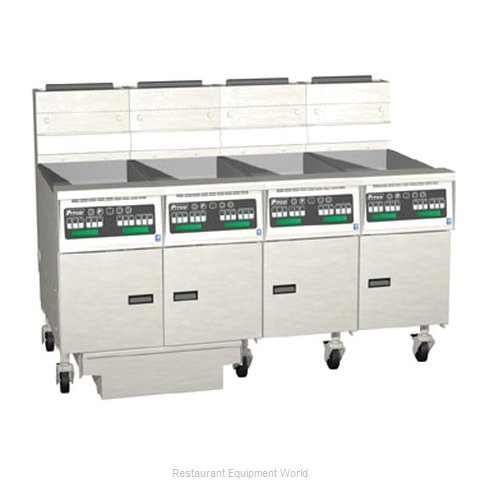 Pitco 4-SG14RC-S/FD Fryer Battery Gas
