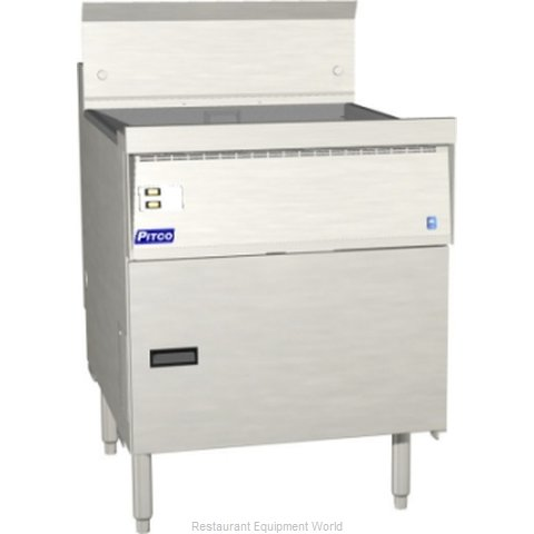 Pitco FBG24-D Flat Bottom Fryer