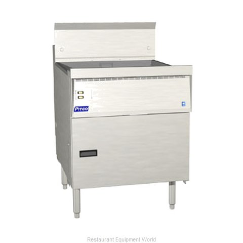 Pitco FBG24-SSTC Flat Bottom Fryer