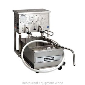Pitco P14 Fryer Filter, Mobile