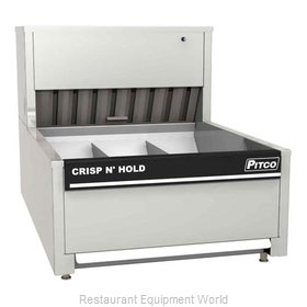 Pitco PCC-18 French Fry Warmer Bin Type
