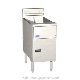 Pitco SE14 Fryer, Electric, Floor Model, Full Pot